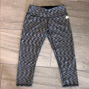 Grey and Black Workout Leggings